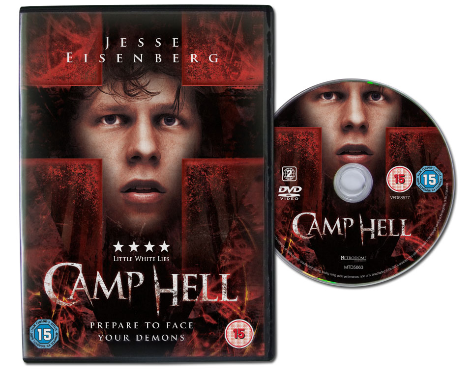 Metrodome Camp Hell DVD packaging